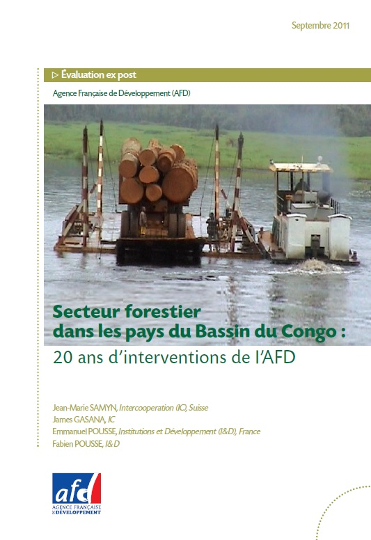 Couv AFD - Congo-forets-evaluation-conjointe