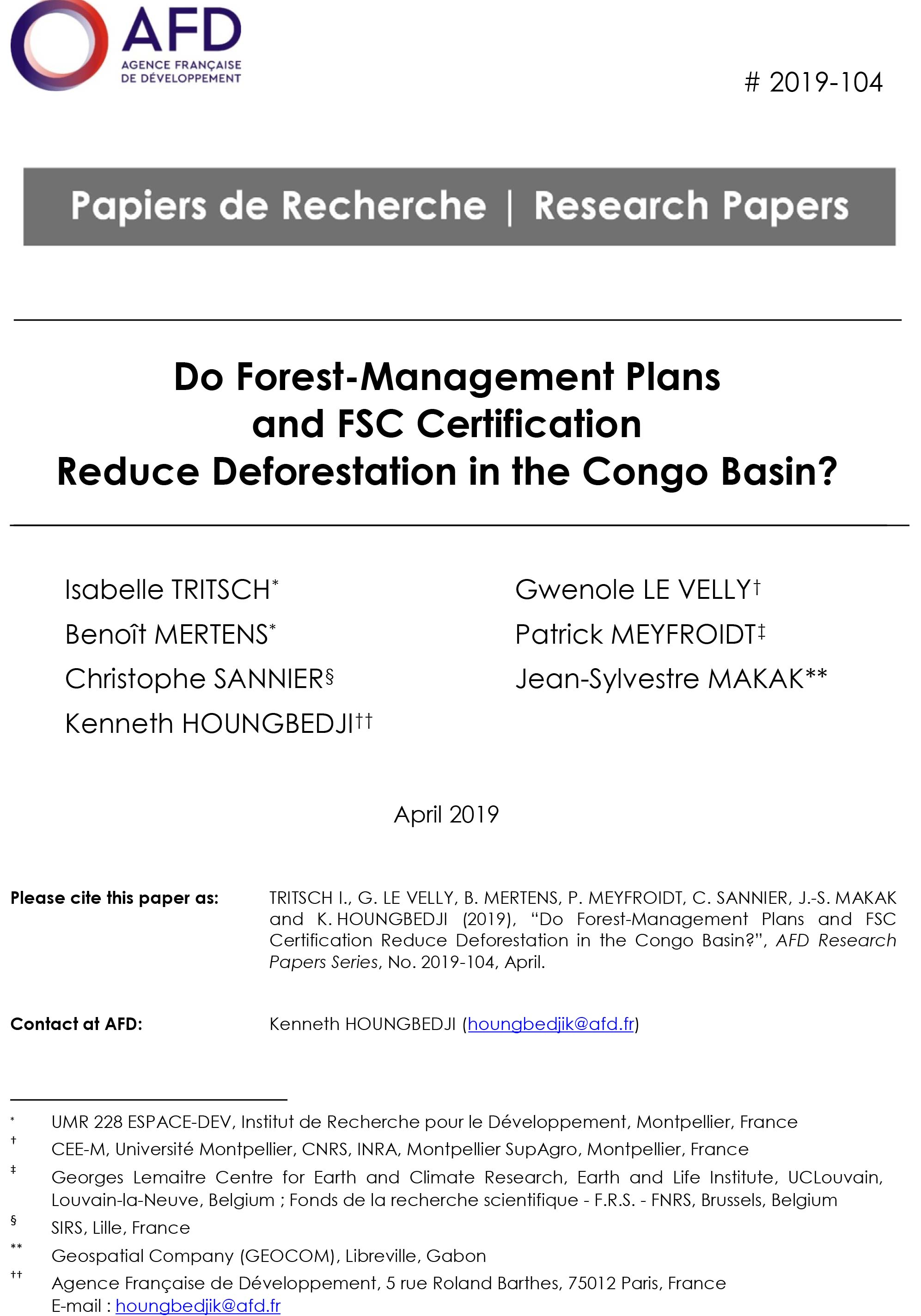 research paper on forest management
