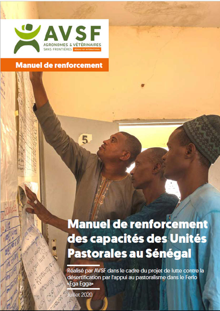 Manual on reinforcing the skill-sets of pastoral units in Senegal