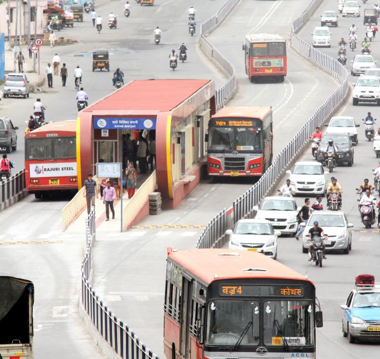 Bus Rapid Transit (BRT) in Pune, India
