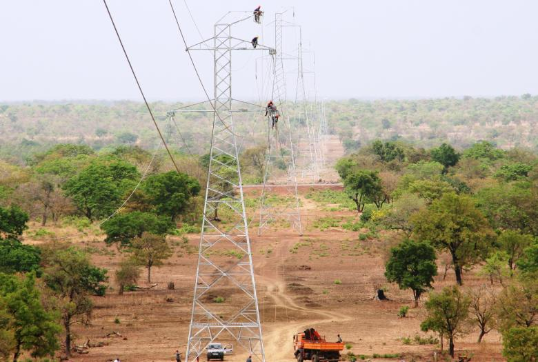 Electrification au Burkina Faso